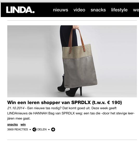 Sprdlx Linda winactie