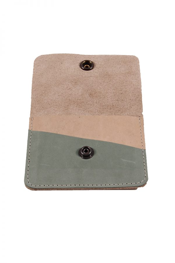 leren mini wallet